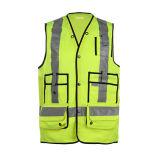 Het in het groot Weerspiegelende Vest van de Veiligheid voor Workwear