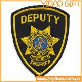 Zone su ordinazione del ricamo della polizia di frontiera di calore con Ferro-sulla parte posteriore (YB-e-035)