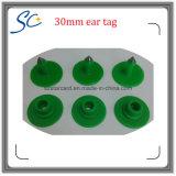 бирка уха диаметра TPU 30mm материальная пластичная для метки поголовья