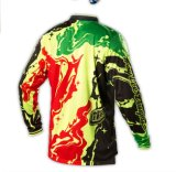 100% Poliéster Unisex Motocross Dirt Bike Sublimated Team Mx Jerseys