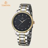 メンズ標準的な様式のステンレス鋼の水晶Wristwatch72413