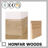 12 X 100mm Decorative Material Wood Skirting for Decor