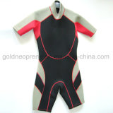 Swimwear praticante il surfing della muta umida di nuoto di immersione con bombole del neoprene (GNDSA01)