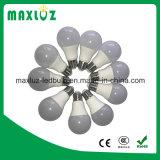 Lumière d'ampoule en plastique de l'aluminium DEL d'A60 A19 5W 7W 10W 12W