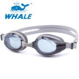 Custom PC lente impermeable cómodo Swim Gafas