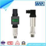 Sensor seguro intrínseco da pressão hidráulica com saída 4~20mA/1~5V/0~10V