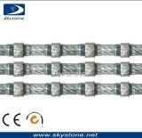 El alambre del diamante vio para el granito bloque de corte