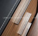 Neues modernes Leder Belüftung-Büro-Executivschreibtisch (V29)