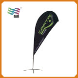 4.5m Pole Custom Teardrop Beach Flags Publicidade Banner Am456