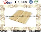 良質の最もよい価格の木のラミネーションPVC天井板およびプラスチック壁パネル、Cielo Raso De PVC