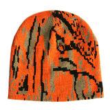 新しい縞によって編まれる帽子(JRK046)