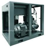 18.5kw/25HP高性能はドライヤーによって結合されたねじ空気圧縮機を統合した