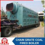 Chaudière à eau chaude allumée par charbon inférieur de consommation