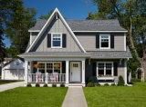 두 배 차고 조립식 가옥 집을%s 가진 편리한 살아있는 거주
