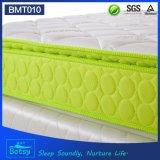 Colchón de resorte resistente del OEM los 28cm con el resorte Pocket Relaxing y la capa resistente de la espuma