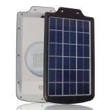 luz solar da jarda 5W com o painel 8W solar policristalino