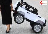 Carro grande novo do jipe de 2017 2 assentos, porta dobro aberta, 2 motores, MP4 jogador, roda de borracha de EVA opcional