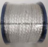 Manicotto intrecciato fibra di vetro bianca di Thermosleeve dell'isolamento termico