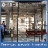 Customziedのステンレス鋼屋内か屋外のための装飾的なレーザーの切口スクリーン