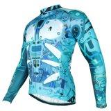 Zr куртки Джерси велосипеда термально задействовать зимы втулок людей Windproof длинний