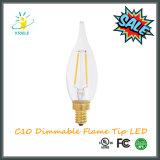 Illuminazione del lampadario a bracci della lampadina della lampadina C10/C32 LED del LED