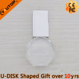 Bastone a cristallo di memoria del USB dell'ottagono per il regalo di promozione (YT-3270-11)