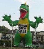 昇進の作業のために大きく膨脹可能な恐竜の漫画を広告すること