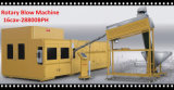 Máquina rotatoria automática del moldeo por insuflación de aire comprimido de la botella del animal doméstico de 12 cavidades por completo