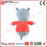 China-Lieferant angefülltes weiches Plüsch-Nashorn-Spielzeug für Kinder