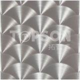 feuille de couleur laminée à froid 201 par 304 d'acier inoxydable de laser pour la décoration