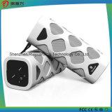 Haut-parleur portatif de Bluetooth avec le micro intégré (blanc)