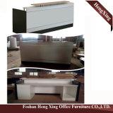 (HX-5N421) Forniture di ufficio di legno di MFC dell'ufficio di ricezione della Tabella bianca del contatore