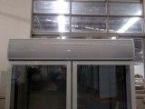 Kommerzielle aufrechte doppelte Glastür-kalter Koks-Bildschirmanzeige-Kühlraum
