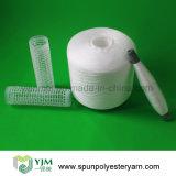 Filato filato 20s/2/3 grezzo di bianco in poli fibra corta 100%