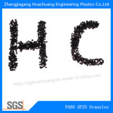 PA66 granula la fibra de vidrio ignífuga el 25% para los plásticos de la ingeniería