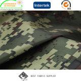 Stof van de Camouflage van Oxford van de Polyester van 100% de Polyurethaan Met een laag bedekte 600d voor Broeken met Afgedrukt