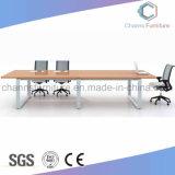 기능적인 사무용 가구 나무로 되는 컴퓨터 책상 회의 테이블