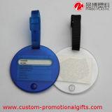 円のプラスチック旅行荷物の名前IDの札