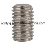 中国ASME/ANSI B 18.3からの平らなポイント製造者が付いているステンレス鋼304の六角形のソケットの止めねじ