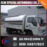 Carro fresco del transporte de la leche del depósito de leche de Inox del petrolero material de la leche