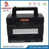 Jogo quente da luz da potência solar dos produtos do Sell para o carregador de Solarlight e de telefone do USB