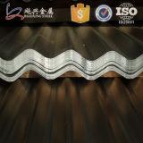 Лист оцинкованной волнистой стали для внешних стены или крыши