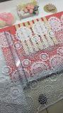 Neue Breiten-Stickerei-Zutat-Nylon-Polyester-Spitze des Entwurfs-40cm für Kleider u. Hauptgewebe u. Vorhang-Zusatzgerät