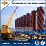 Concentrador da espiral do minério da alta qualidade para a mineração do minério