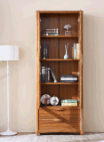 Двери мебели высокого качества книжные полки домашней стеклянной деревянные