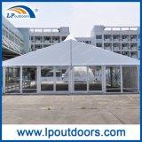 Tente de mariage de 10 m High Peak Event avec mur en verre pour extérieur