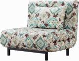 Base di sofà piegata tessuto domestico della mobilia singolo