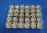 El huevo plástico disponible de la bandeja del huevo encuadierna el huevo que empaqueta a 30 embaladores de los orificios