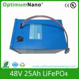 Paquete solar 48V de la batería de almacenaje del litio recargable