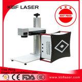 Машина маркировки лазера волокна высокого качества портативная миниая для бирки уха кольца/браслета